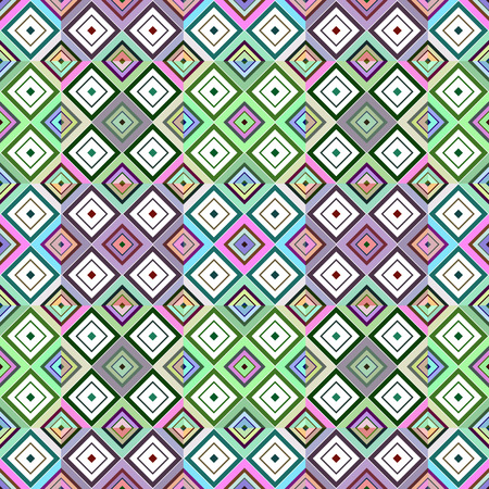 Photo pour Colored rhombuses, abstract background. Vector seamless pattern. - image libre de droit