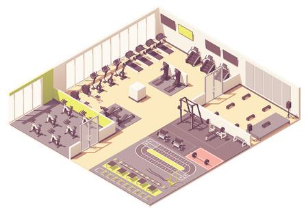 Ilustración de Vector fitness club - Imagen libre de derechos