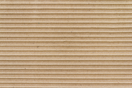 Photo for Brown paper box or Corrugated cardboard sheet texture - Royalty Free Image