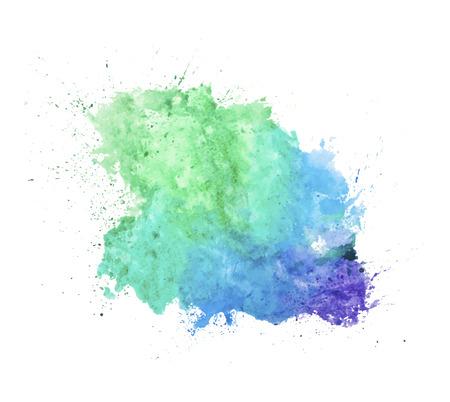 Ilustración de watercolor splash - Imagen libre de derechos