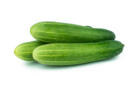 Photo for fresh cucumbers background - Royalty Free Image