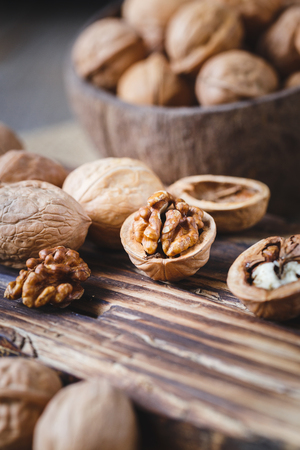 Photo for Walnuts Seeds - Royalty Free Image