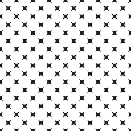 Illustration pour Dot pattern background star. Vintage retro vector design element. - image libre de droit