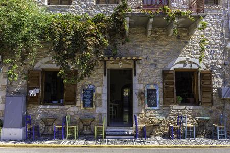 Foto per Beautiful little village in Peloponesse, Greece - Immagine Royalty Free