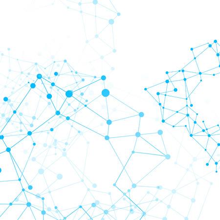 Illustration pour Abstract background network connect concept  vector illustration   - image libre de droit