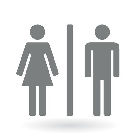 Ilustración de Male and Female gender Symbol. Vector illustration. - Imagen libre de derechos