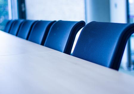 Foto de Row of office chairs - Imagen libre de derechos