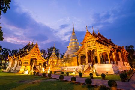 Foto de Temple in Chiangmai , Thailand - Imagen libre de derechos