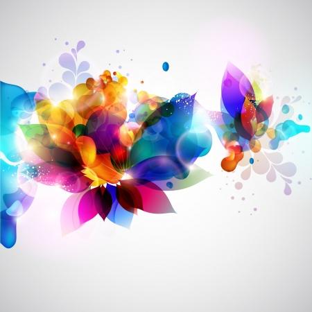 Illustration pour Floral abstract background  - image libre de droit