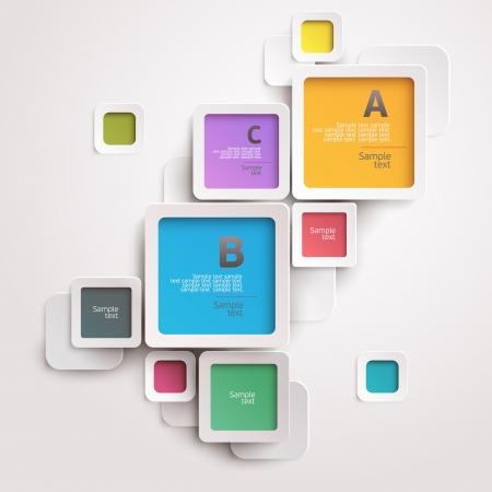 Illustration pour Modern colorful design - image libre de droit
