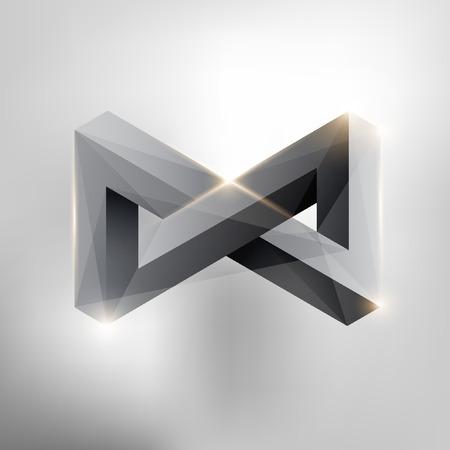 Illustration pour  Infinity symbol - image libre de droit