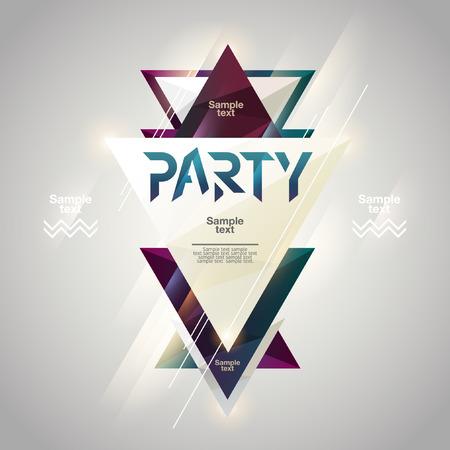Photo pour Abstract background for party poster - image libre de droit