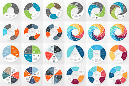 Illustration pour Layout for your options or steps. Abstract template for background. - image libre de droit