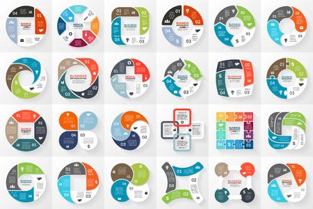 Ilustración de Layout for your options or steps. Abstract template for background. - Imagen libre de derechos
