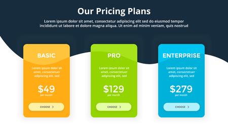 Ilustración de Presentation slide template with infographic elements. - Imagen libre de derechos