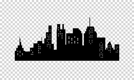 Illustration pour City Silhouette - image libre de droit
