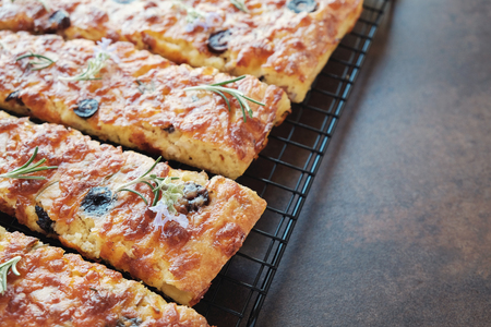 Photo for Low carb keto almond cheese bread - Royalty Free Image