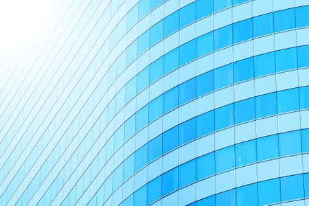 Foto de The building windows abstract background - Imagen libre de derechos