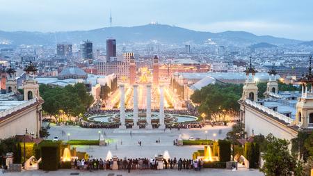 Foto de Barcelona Skyline Spain - Imagen libre de derechos