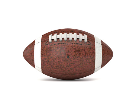 Foto de american football ball 3d background - Imagen libre de derechos