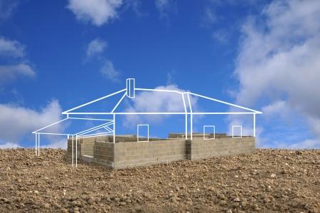 Foto de project to build a home - Imagen libre de derechos