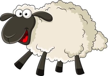 Photo for Sheep cartoon - Royalty Free Image