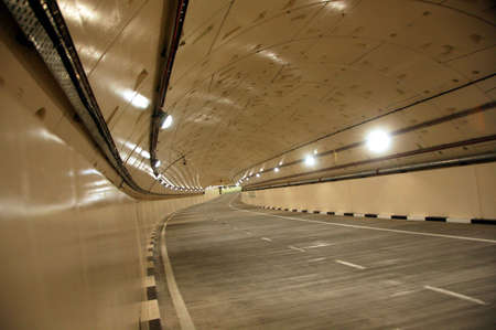 Newly cosntructed road tunnel in Kuala Lumpur
