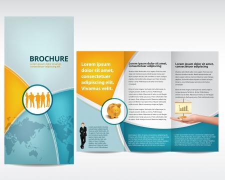 Illustration pour Print design, template - image libre de droit