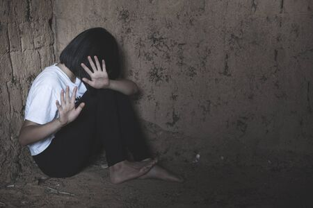 Photo for Stop violence against children and women - Royalty Free Image