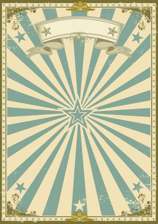 Foto de a  vintage poster with sunbeams for your advertising. - Imagen libre de derechos