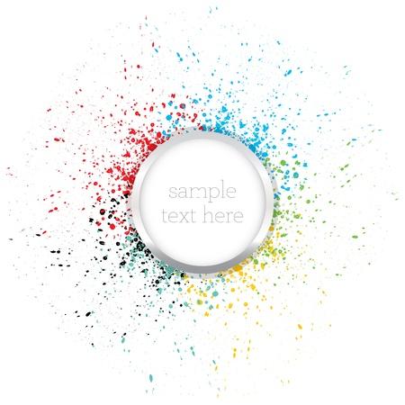Illustration pour Colorful background  - image libre de droit