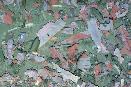 Foto de Background weathered paint cracked- destroyed texture. Distress surface- abstract pattern - Imagen libre de derechos