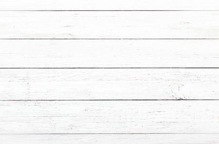 Foto de wood texture background, light oak of weathered distressed rustic wooden with faded varnish paint showing woodgrain texture. hardwood white planks pattern table top view - Imagen libre de derechos