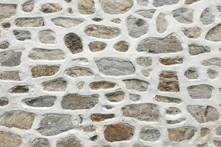 Photo pour old stone wall background, seamless ashlar stone wall texture - image libre de droit