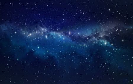 Photo pour Deep space. High definition star field background - image libre de droit