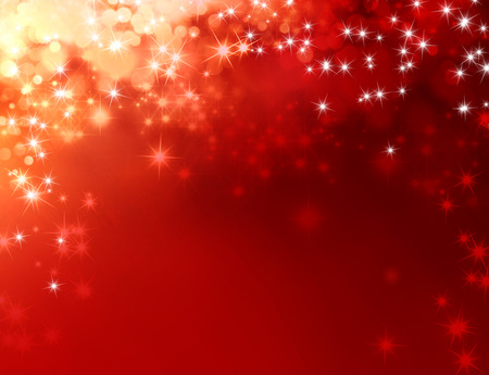 Foto de Shiny red background with starlight raining down - Imagen libre de derechos
