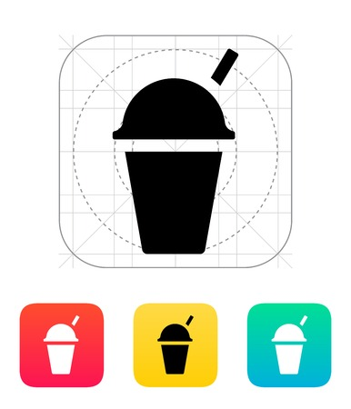 Takeaway cup icon. Vector illustration.