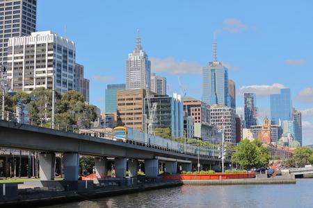 Photo pour Cityscape Melbourne Australia - image libre de droit