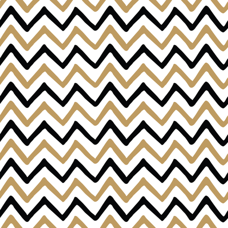Illustration pour Vector seamless pattern with fabric zig zag texture - image libre de droit