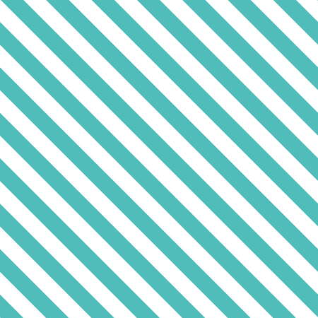 Illustration for Seamless pattern with decorative diagonal background of lines in turquoise color. - Royalty Free Image