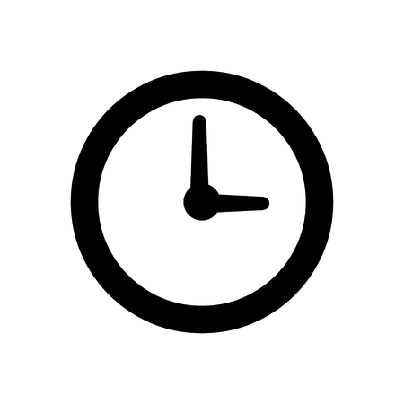 Illustration pour Clock time icon - image libre de droit