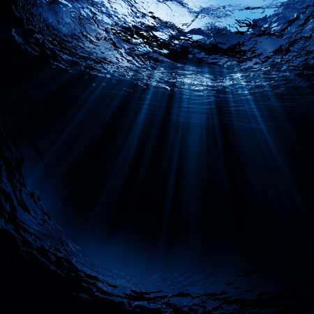Photo for Deep water, abstract natural backgrounds - Royalty Free Image