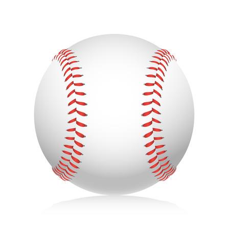 Ilustración de Baseball ball illustration - Imagen libre de derechos