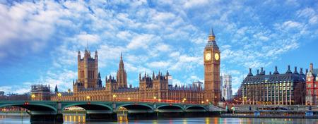 Foto de London - Big ben and houses of parliament, UK - Imagen libre de derechos
