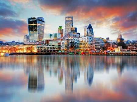 Photo pour London skyline - image libre de droit