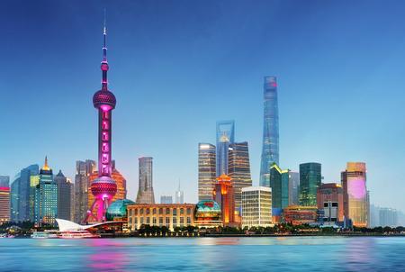 Photo for Shangahi skyline, China. - Royalty Free Image