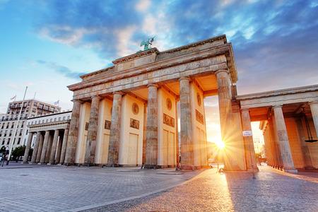 Foto de Berlin, Brandenburg gate, Germany - Imagen libre de derechos