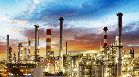 Photo for Oil refinery - Royalty Free Image