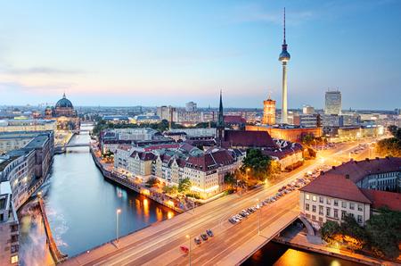 Foto de Berlin skyline - Imagen libre de derechos