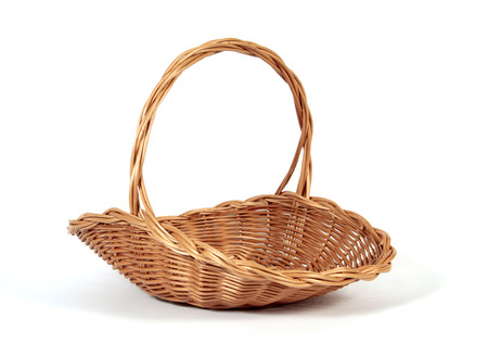 Photo for The empty Easter basket - Royalty Free Image